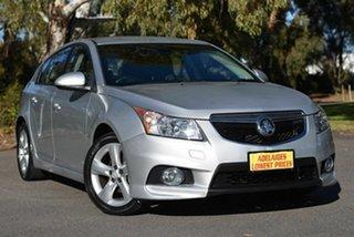 2012 Holden Cruze JH SERIES II MY SRi Silver 6 Speed Manual Hatchback.