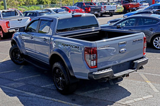 2019 Ford Ranger PX MkIII 2019.75MY Raptor Grey 10 Speed Sports Automatic Double Cab Pick Up.