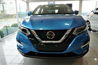2021 Nissan Qashqai J11 Series 3 MY20 Ti X-tronic Vivid Blue 1 Speed Constant Variable Wagon.