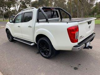 2016 Nissan Navara D23 ST-X White Sports Automatic Utility.