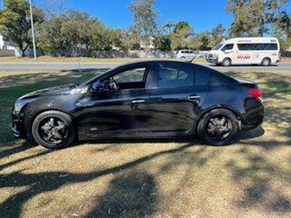 2014 Holden Cruze JH Series II MY14 Z Series Black 5 Speed Manual Sedan.