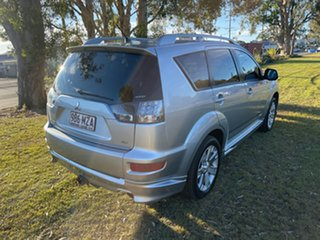 2010 Mitsubishi Outlander ZH MY10 RX Silver 6 Speed Constant Variable Wagon