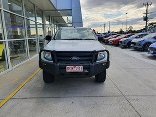 2014 Ford Ranger PX XL White 6 Speed Manual Cab Chassis.