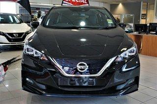 2021 Nissan Leaf ZE1 e+ Pearl Black 1 Speed Reduction Gear Hatchback.