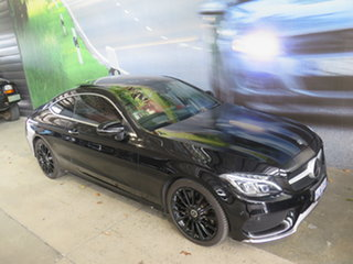 2018 Mercedes-Benz C300 205 MY18 Black 9 Speed Automatic G-Tronic Coupe