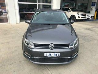 2017 Volkswagen Polo 6R MY17 66TSI Trendline Grey 5 Speed Manual Hatchback.