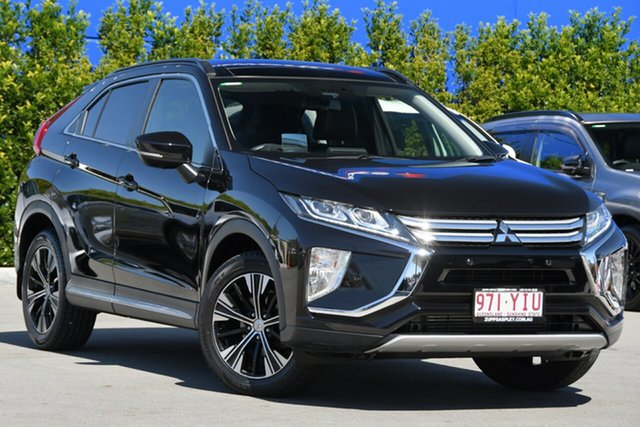 Used Mitsubishi Eclipse Cross YA MY18 Exceed 2WD Aspley, 2018 Mitsubishi Eclipse Cross YA MY18 Exceed 2WD Black 8 Speed Constant Variable Wagon