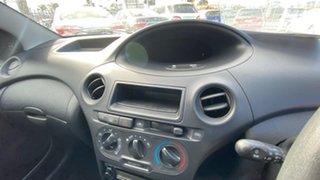 2003 Toyota Echo NCP10R MY03 Black 4 Speed Automatic Hatchback