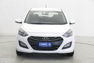 2014 Hyundai i30 GD2 MY14 Trophy Creamy White 6 Speed Manual Hatchback.