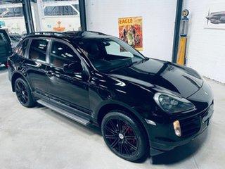 2009 Porsche Cayenne 9PA MY10 Diesel Black 6 Speed Sports Automatic Wagon