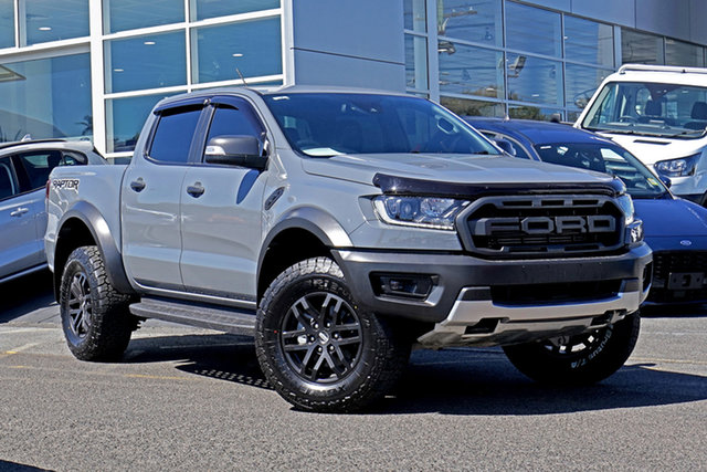 Used Ford Ranger PX MkIII 2019.75MY Raptor Springwood, 2019 Ford Ranger PX MkIII 2019.75MY Raptor Grey 10 Speed Sports Automatic Double Cab Pick Up