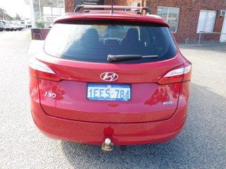 2013 Hyundai i30 GD Elite Tourer Red 6 Speed Sports Automatic Wagon