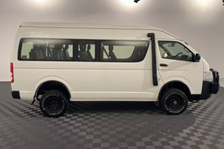 2016 Toyota HiAce KDH223R Commuter High Roof Super LWB French Vanilla 4 speed Automatic Bus