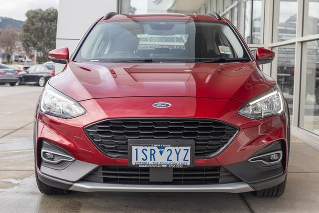 Used Ford Focus SA 2020.25MY Active Ferntree Gully, 2020 Ford Focus SA 2020.25MY Active Red 8 Speed Automatic Hatchback