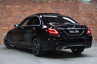 2020 Mercedes-Benz C-Class W205 801MY C200 9G-Tronic Obsidian Black Metallic 9 Speed.
