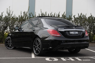 2016 Mercedes-Benz C-Class W205 807MY C43 AMG 9G-Tronic 4MATIC Obsidian Black 9 Speed.