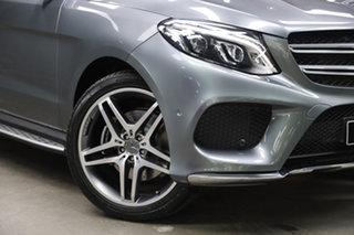 2016 Mercedes-Benz GLE-Class W166 807MY GLE350 d 9G-Tronic 4MATIC Selenite Grey 9 Speed