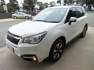 2017 Subaru Forester MY18 2.5I-L White Continuous Variable Wagon.