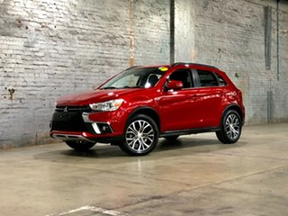 2018 Mitsubishi ASX XC MY18 LS 2WD Red 1 Speed Constant Variable Wagon
