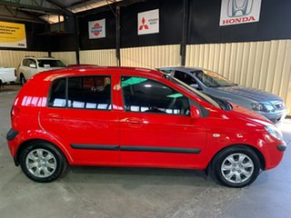 2008 Hyundai Getz TB Upgrade S Red 5 Speed Manual Hatchback.