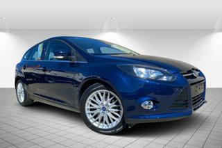 2012 Ford Focus LW Sport PwrShift Blue 6 Speed Sports Automatic Dual Clutch Hatchback.