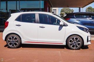 2021 Kia Picanto JA MY21 GT-Line White 4 Speed Automatic Hatchback