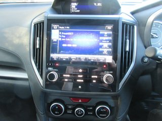 2017 Subaru Impreza G5 MY17 2.0i-S CVT AWD Black 7 Speed Constant Variable Hatchback