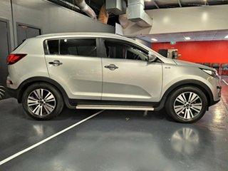2014 Kia Sportage SL MY14 Platinum AWD Metallic Silver 6 Speed Sports Automatic Wagon.