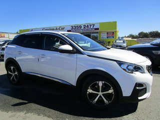 2018 Peugeot 3008 P84 MY18 Allure SUV White 6 Speed Sports Automatic Hatchback