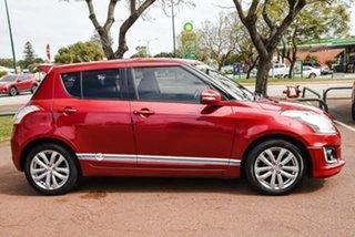 2015 Suzuki Swift FZ MY15 GL Navigator Red 4 Speed Automatic Hatchback.