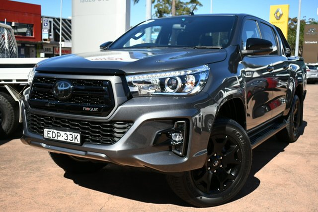 Used Toyota Hilux GUN126R MY19 Rogue (4x4) Brookvale, 2019 Toyota Hilux GUN126R MY19 Rogue (4x4) Grey 6 Speed Automatic Double Cab Pick Up