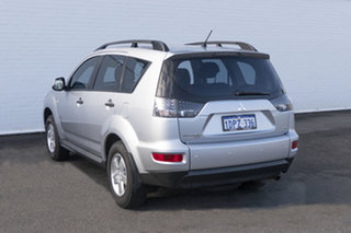 2011 Mitsubishi Outlander ZH MY11 LS 2WD 6 Speed Constant Variable Wagon