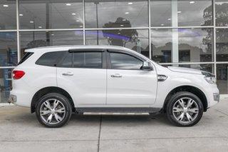 2018 Ford Everest UA 2018.00MY Titanium White 6 Speed Sports Automatic SUV.