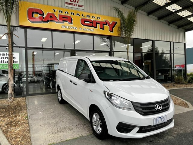 Used LDV G10 SV7C Traralgon, 2018 LDV G10 SV7C White 6 Speed Automatic Van