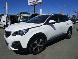 2018 Peugeot 3008 P84 MY18 Allure SUV White 6 Speed Sports Automatic Hatchback.