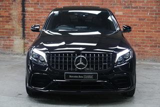 2018 Mercedes-Benz GLC-Class C253 GLC63 AMG Coupe SPEEDSHIFT MCT 4MATIC+ S Black 9 Speed