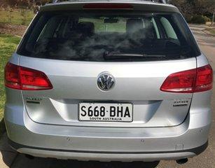 2014 Volkswagen Passat Type 3C MY15 Alltrack DSG 4MOTION Silver 6 Speed Sports Automatic Dual Clutch