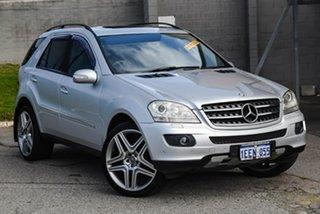 2006 Mercedes-Benz M-Class W164 ML500 Luxury Silver 7 Speed Sports Automatic Wagon.