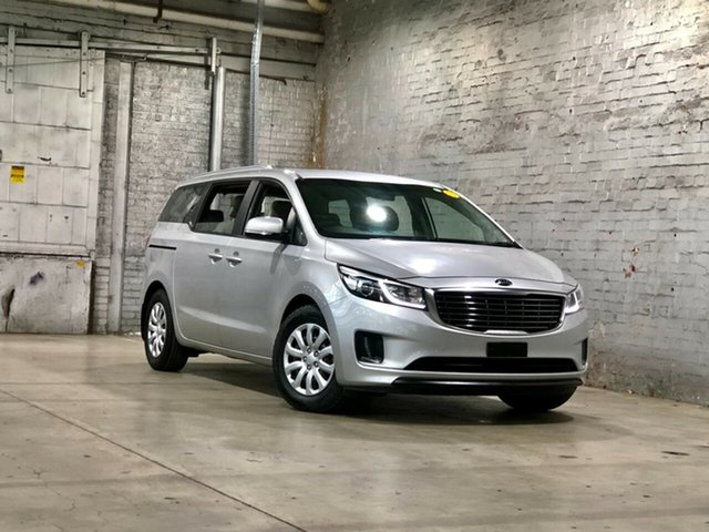 Used Kia Carnival YP MY18 S Mile End South, 2018 Kia Carnival YP MY18 S Silver 6 Speed Sports Automatic Wagon