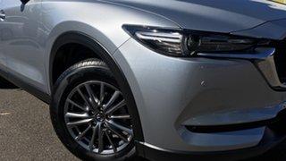 2017 Mazda CX-5 KF4WLA Touring SKYACTIV-Drive i-ACTIV AWD Silver 6 Speed Sports Automatic Wagon.
