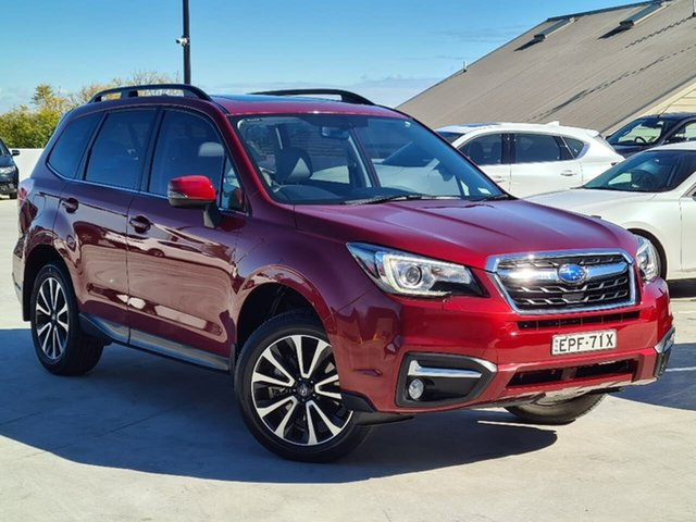Used Subaru Forester S4 MY18 2.0D-S CVT AWD Liverpool, 2017 Subaru Forester S4 MY18 2.0D-S CVT AWD Red 7 Speed Constant Variable Wagon