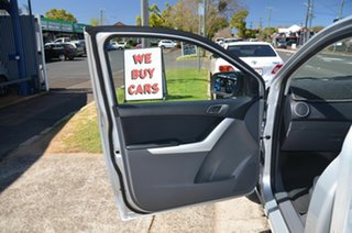 2014 Mazda BT-50 MY13 XT (4x2) Silver 6 Speed Manual Cab Chassis
