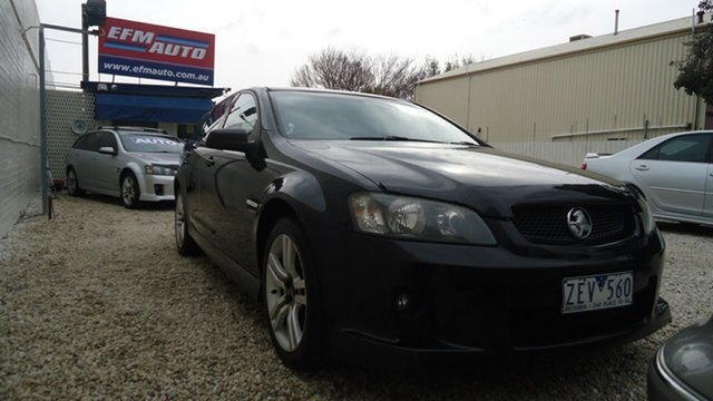 Used Holden Commodore VE MY09.5 SV6 Sportwagon Seaford, 2009 Holden Commodore VE MY09.5 SV6 Sportwagon Black 5 Speed Sports Automatic Wagon