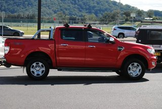 2015 Ford Ranger PX XLT Double Cab Red 6 Speed Manual Utility