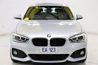 2018 BMW 1 Series F20 LCI-2 125i M Sport Silver 8 Speed Sports Automatic Hatchback.
