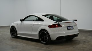 2013 Audi TT 8J MY14 S Tronic Quattro White 6 Speed Sports Automatic Dual Clutch Coupe.