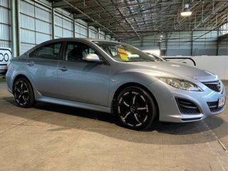 2010 Mazda 6 GH1051 MY09 Limited Blue 5 Speed Sports Automatic Sedan.