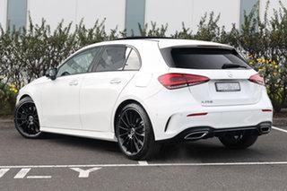 2020 Mercedes-Benz A-Class W177 800+050MY A250 DCT Polar White 7 Speed Sports Automatic Dual Clutch.