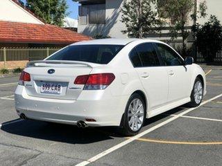 2013 Subaru Liberty B5 MY13 GT AWD Premium White 5 Speed Sports Automatic Sedan.
