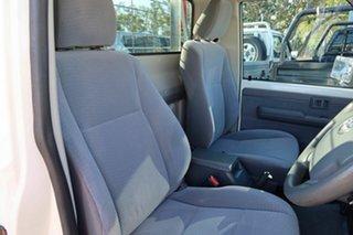 2018 Toyota Landcruiser VDJ79R GXL White 5 Speed Manual Cab Chassis